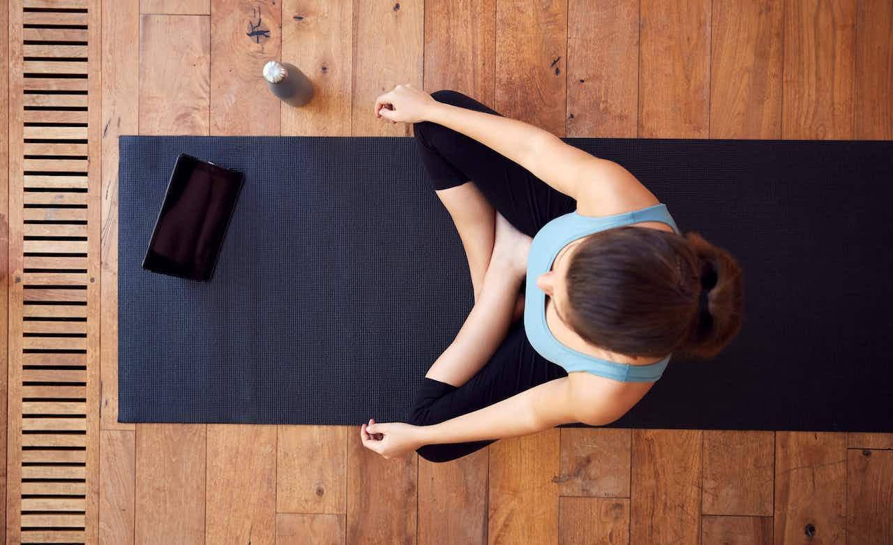 Yoga mit Fitness App