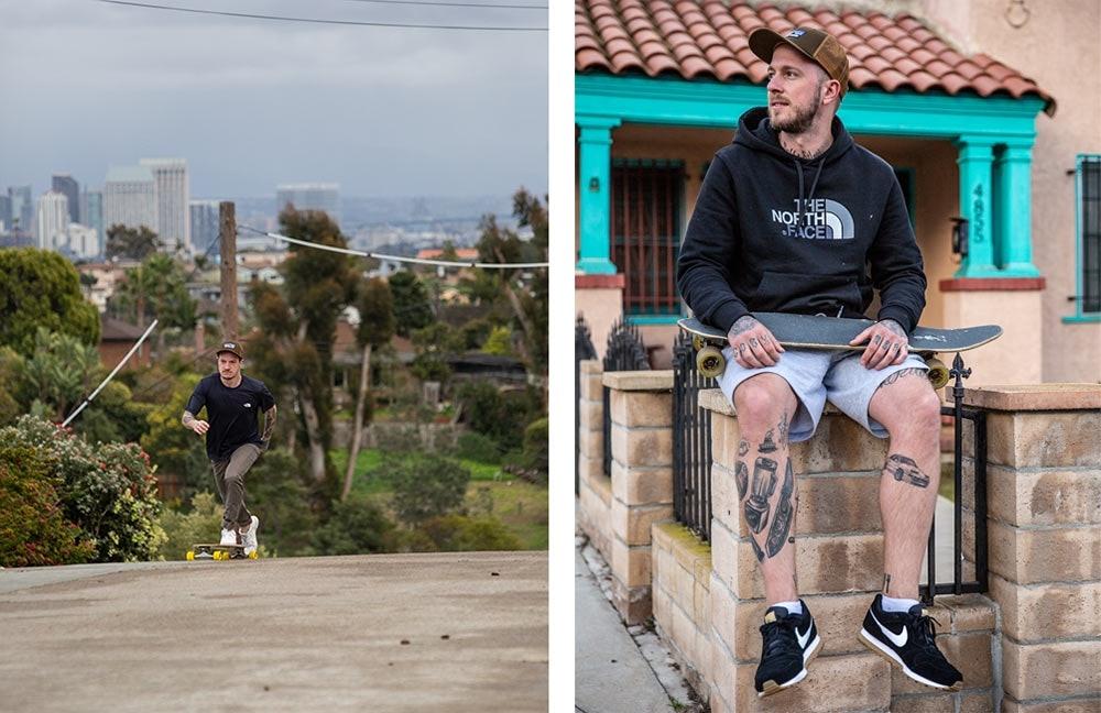 Jo und Cozy erkunden San Diego auf dem Skateboard