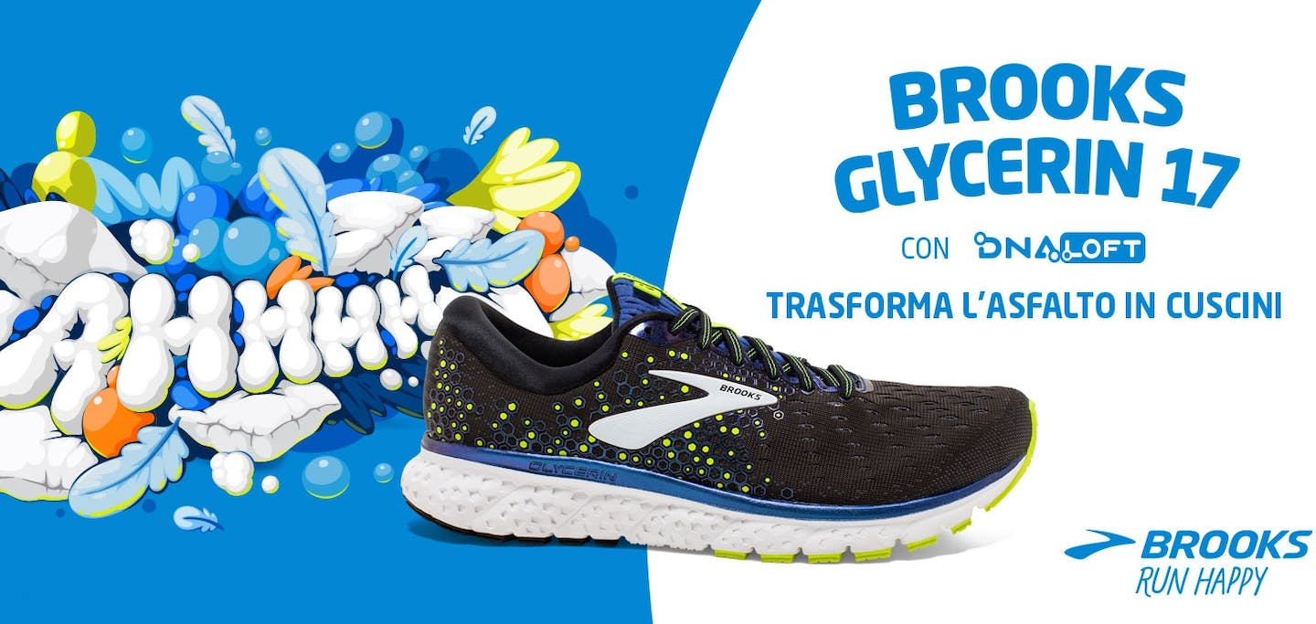 Tecnologia DNA LOFT Brooks Glycerin 17