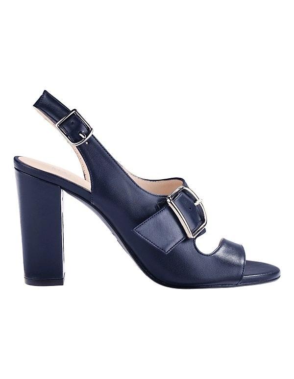 Sandalette mit hohem Absatz