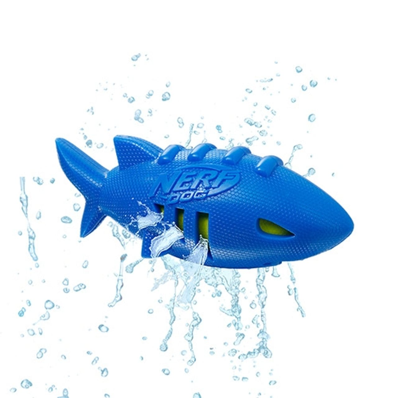 Nerf Dog Super Soaker Shark Football