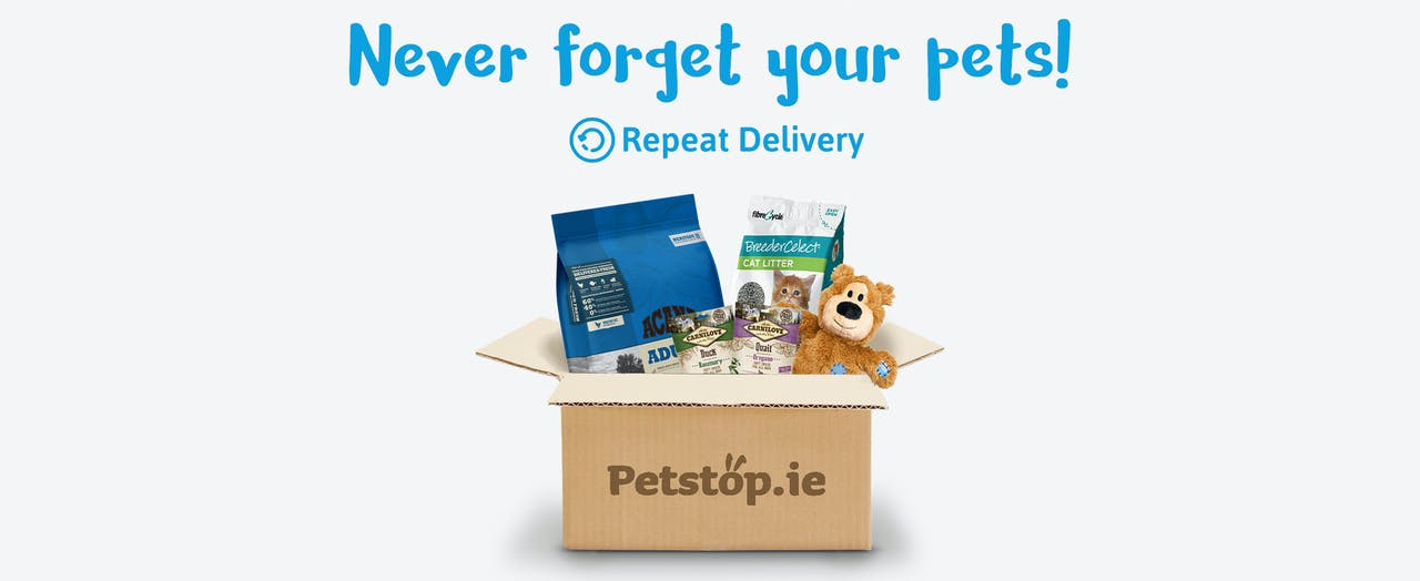 Petstop subscription page