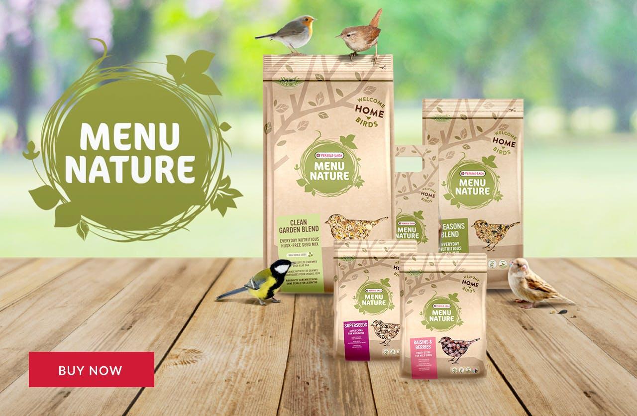 Menu Nature Wild Bird Food
