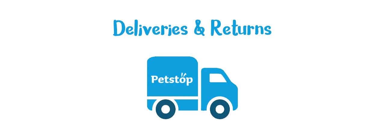 Deliveries and Returns   Petstop.ie