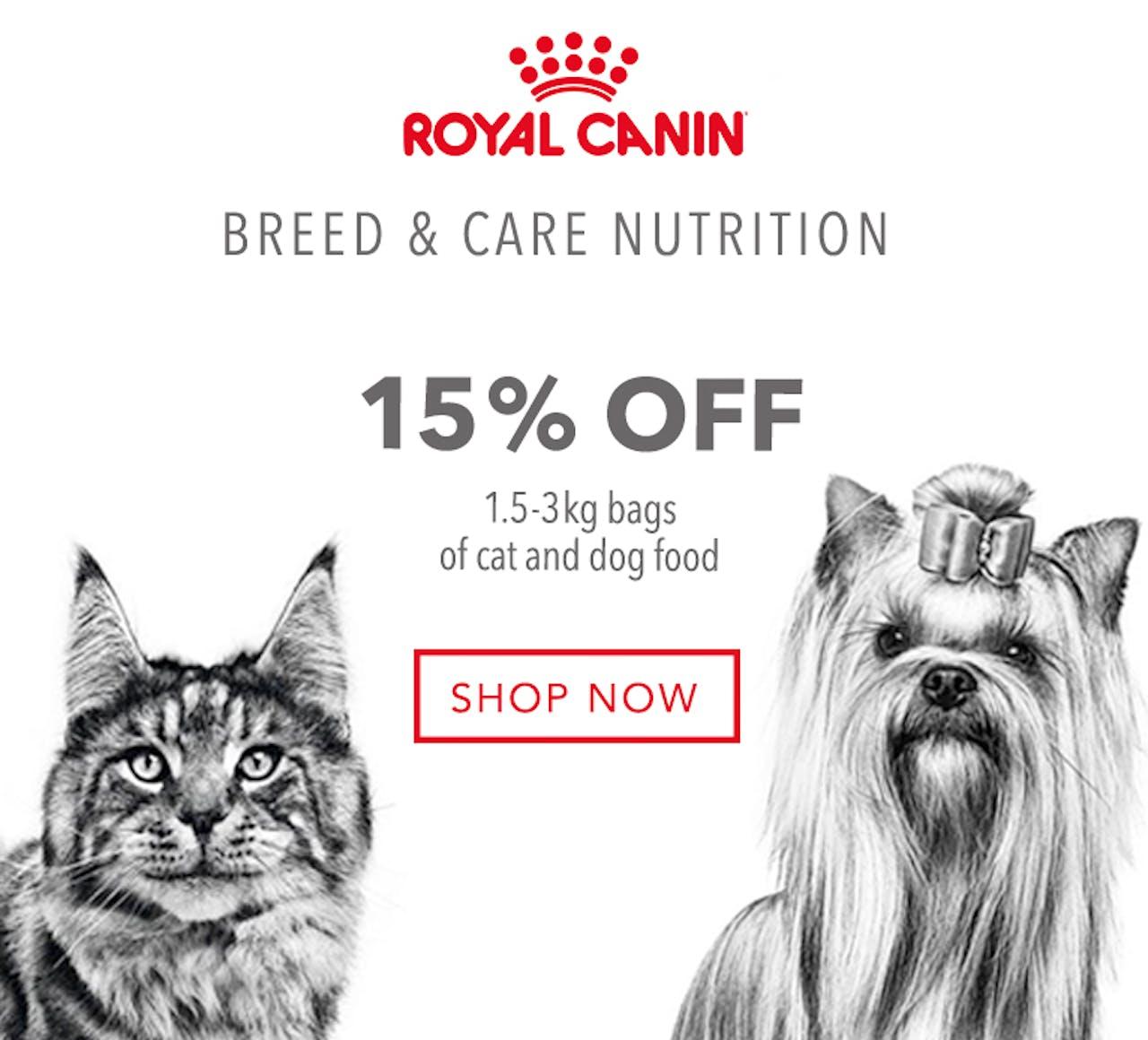Royal Canin Pet Food Promotion
