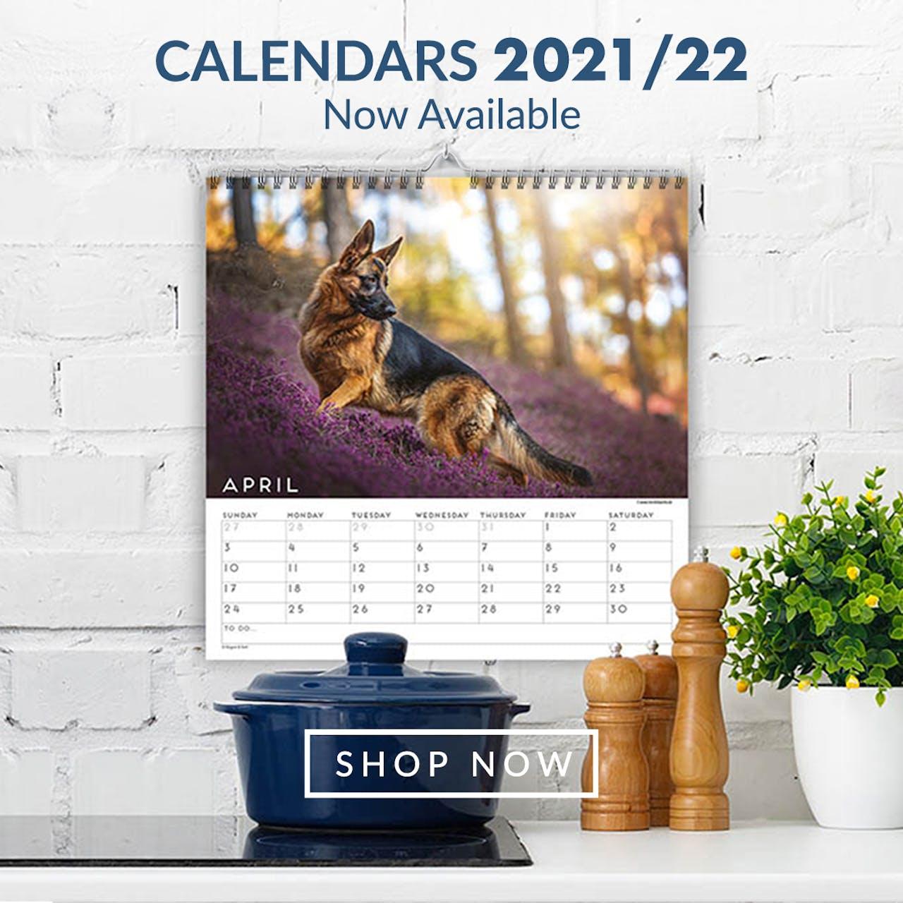 Pet Calendars 2021-22