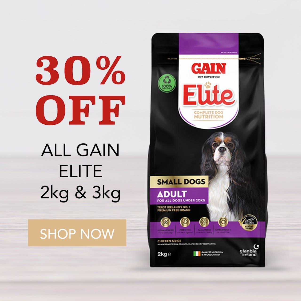 Gain Elite - 30% OFF 2 & 3kg