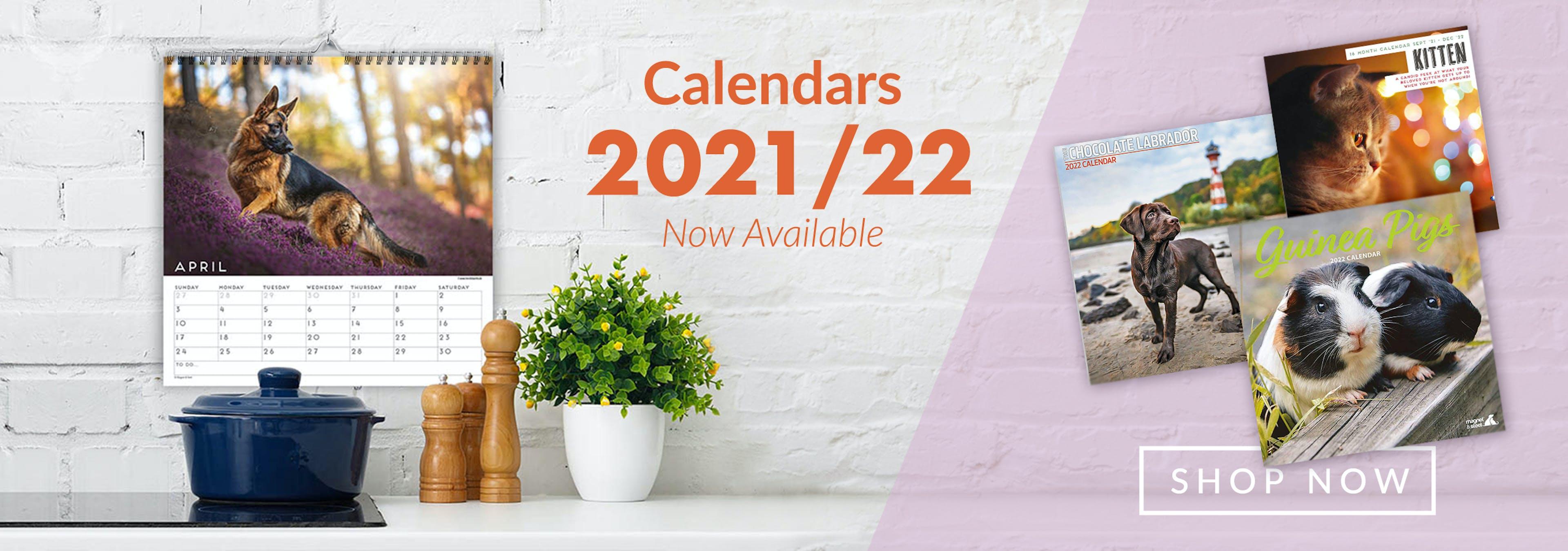 Petstop Calendars 2021-22 - Image