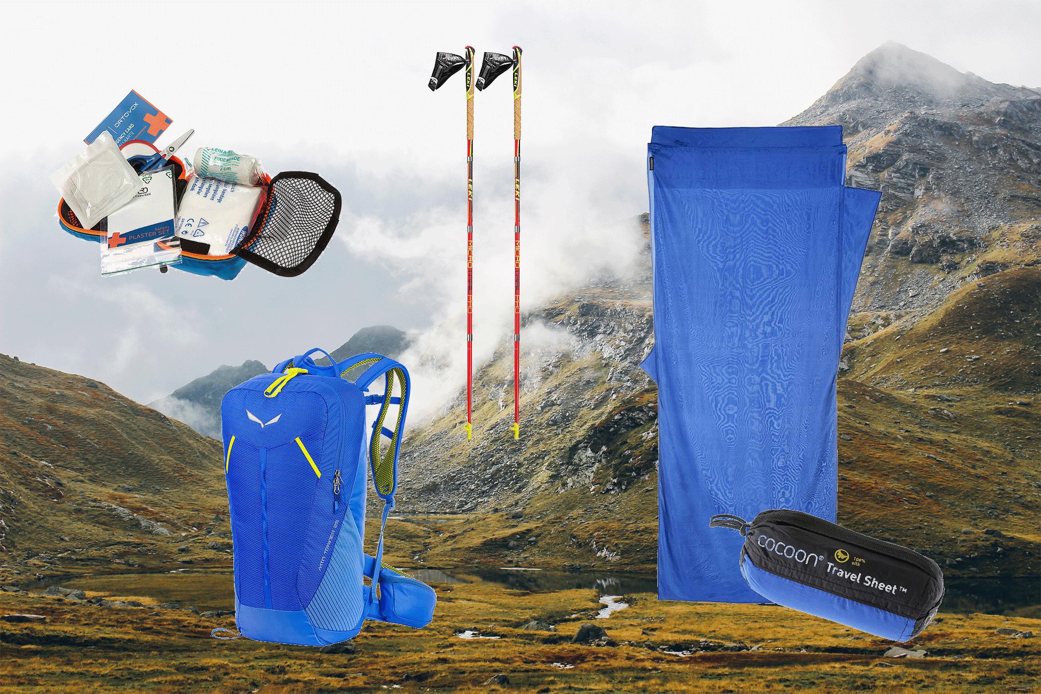 Ausrüstung Wandern, SportScheck, Meraner Höhenweg