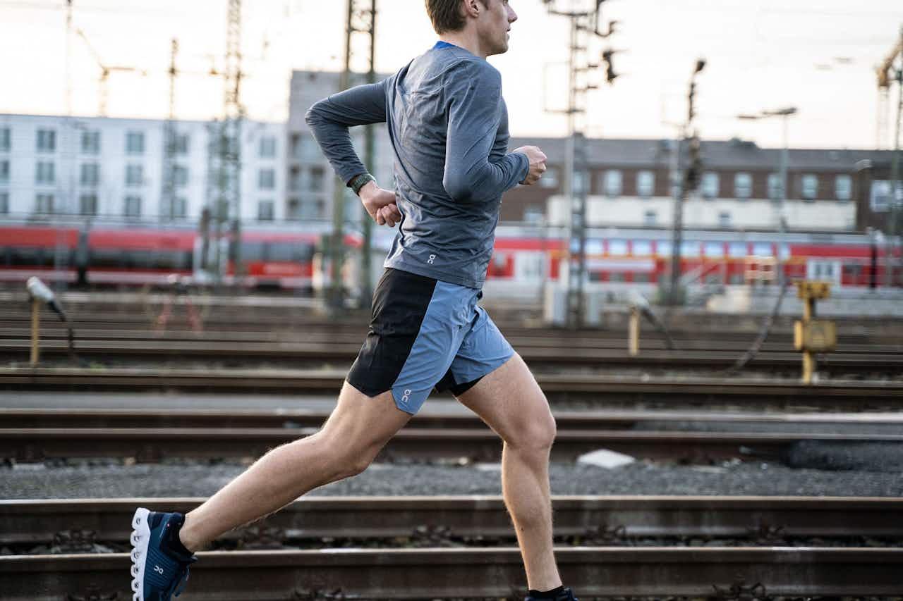 Läufer in der City