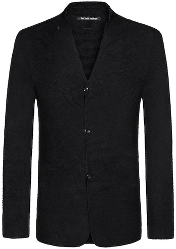Strickjacke, Cardigan, Hannes Roether, black