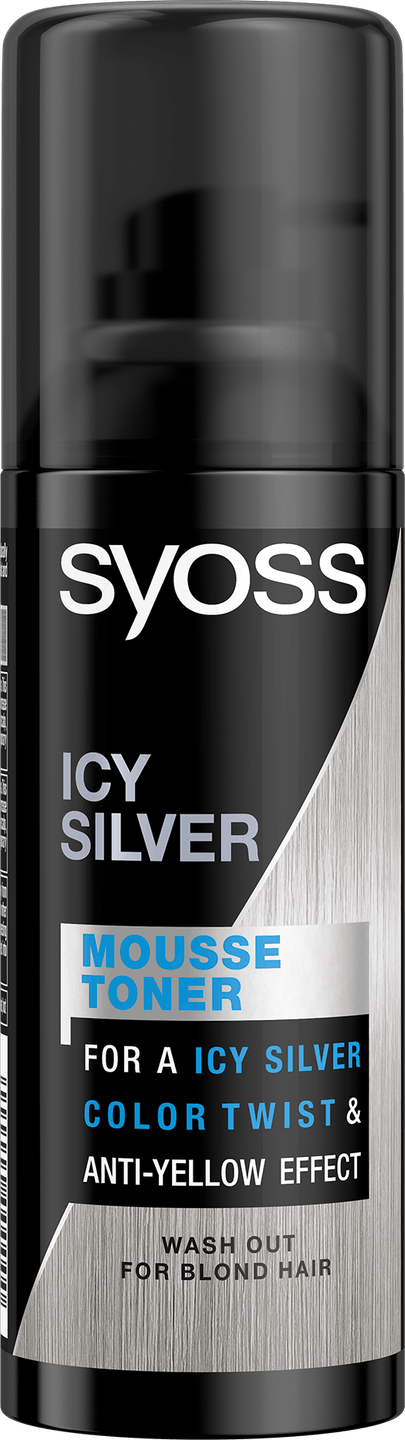 Mousse Toner ICY SILVER pack shots