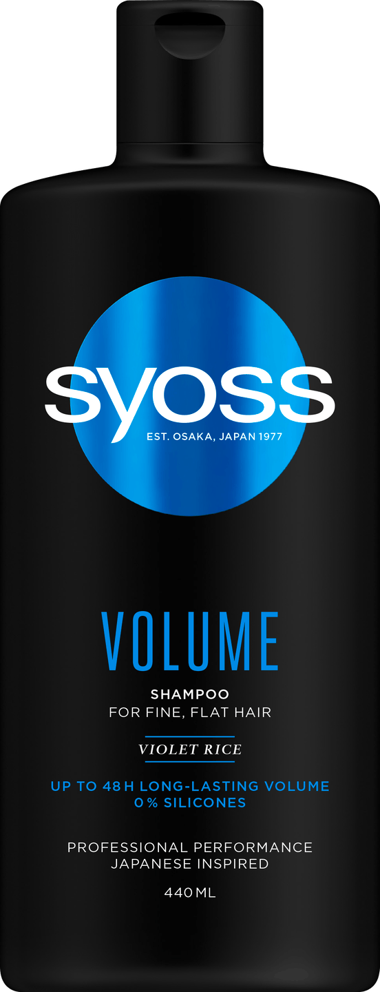 Syoss Volume Shampoo pack shot