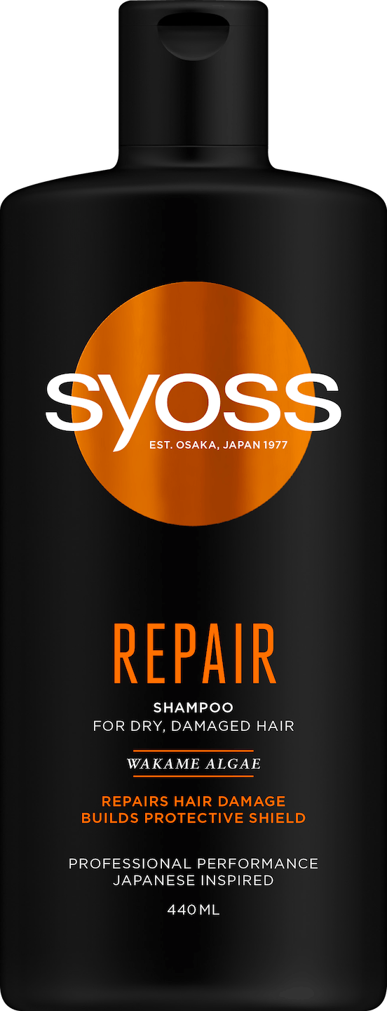 Syoss Repair Shampoo pack shot