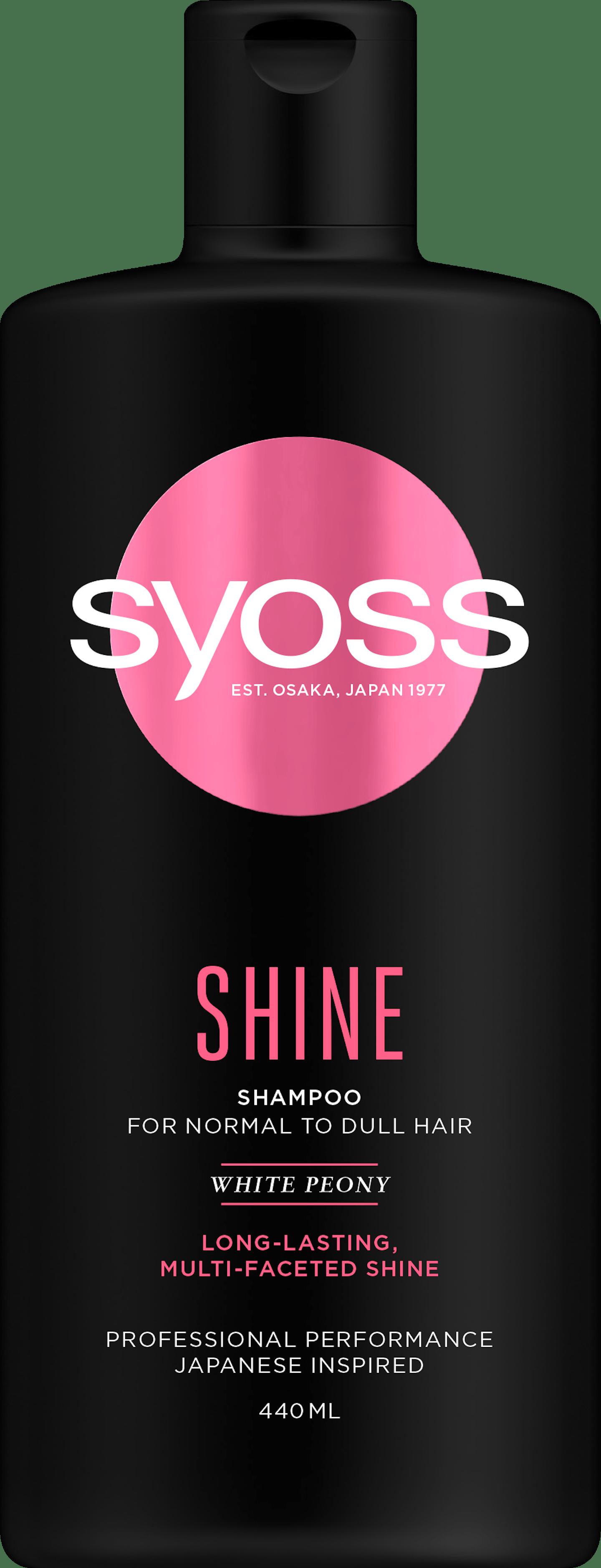 Shine Shampoo pack shot