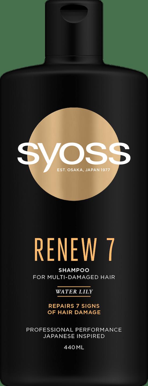 Syoss Renew 7 Shampoo pack shot