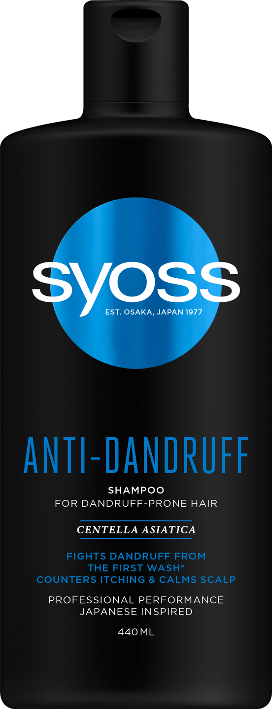 Syoss Anti-Dandruff Shampoo pack shot