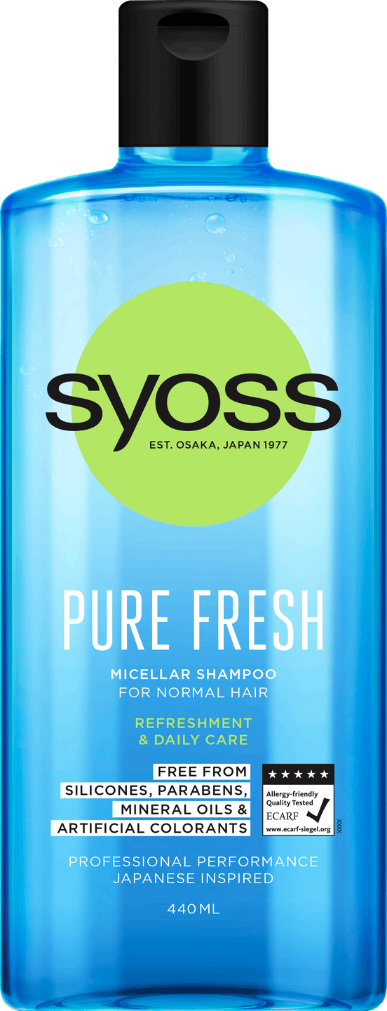 Syoss Pure Fresh Shampoo pack shot