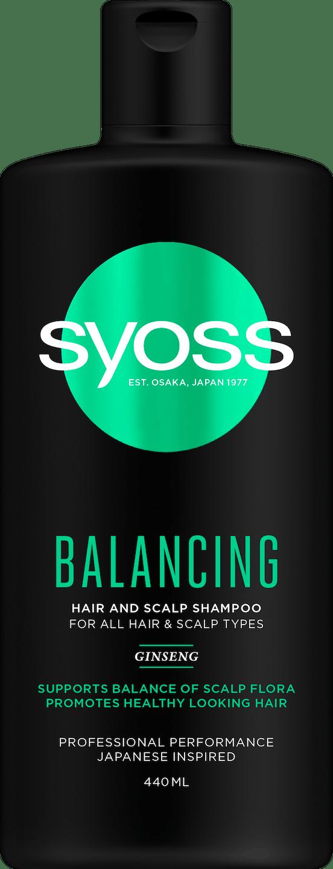Syoss Balancing Shampoo pack shot