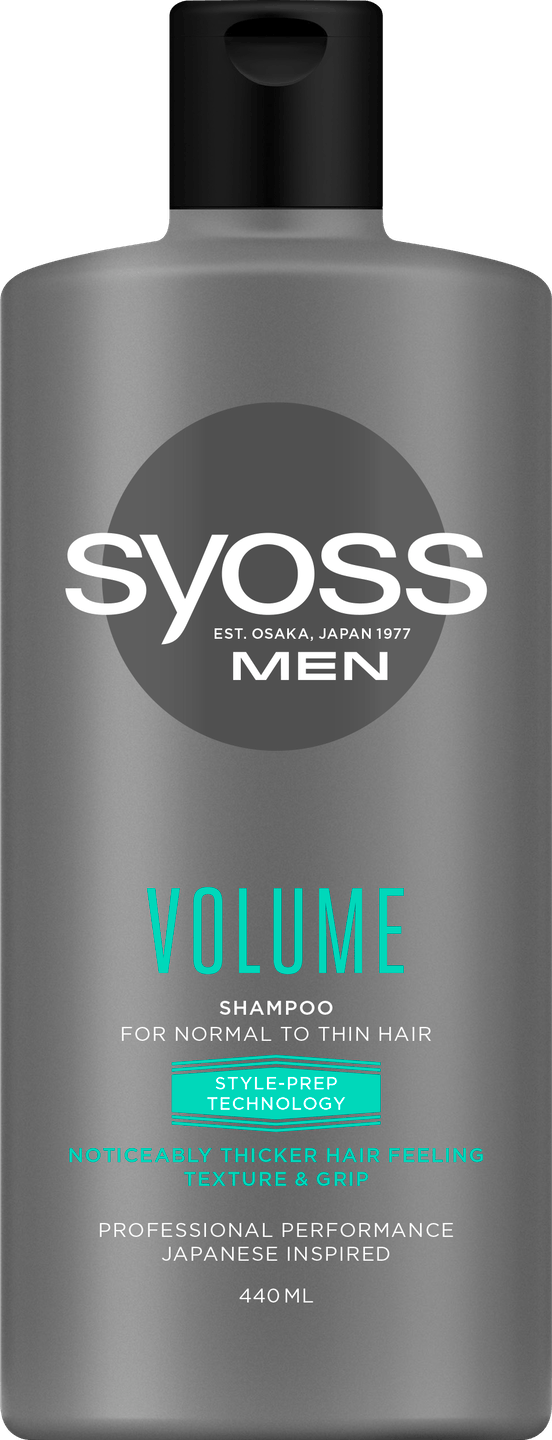 Syoss Men Volume Shampoo pack shot