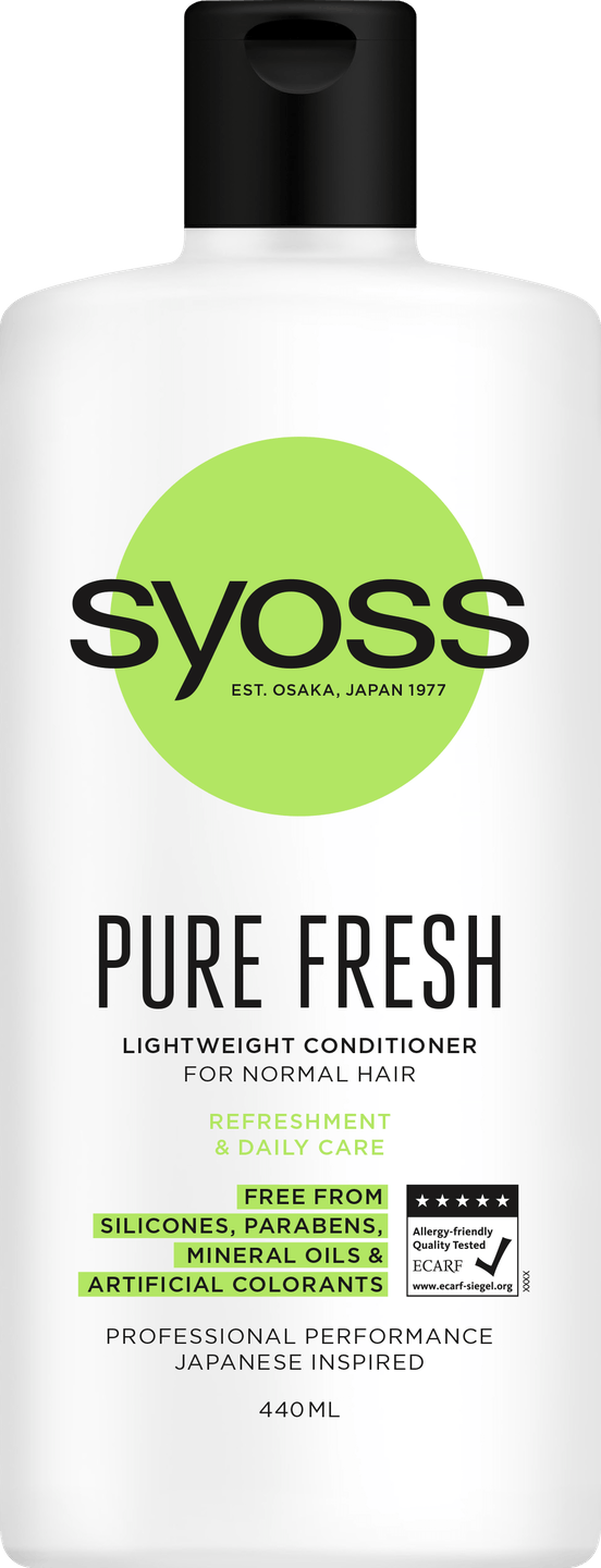 Syoss Pure Fresh Conditioner pack shot