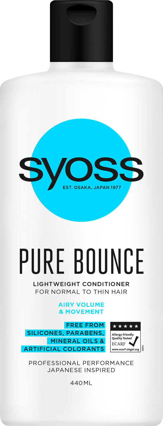 Syoss Pure Bounce Conditioner pack shot