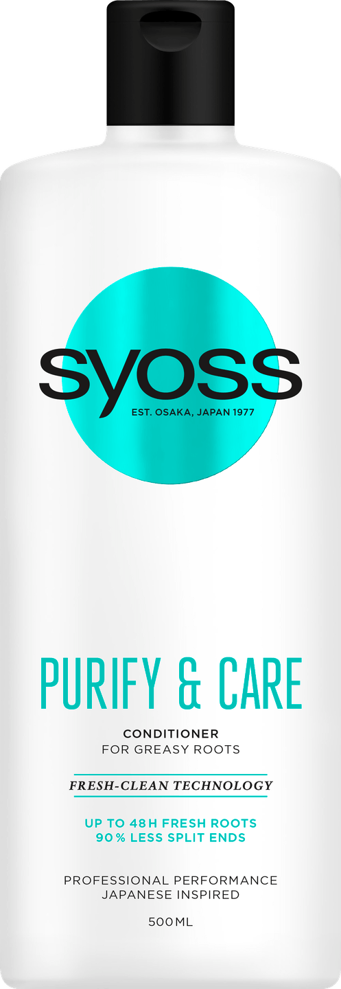 Syoss Purify & Care Conditioner pack shot
