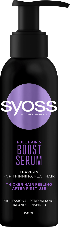 Syoss Full Hair 5 Boost Serum pack shot