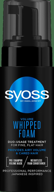 Syoss Volume Whipped Foam pack shot