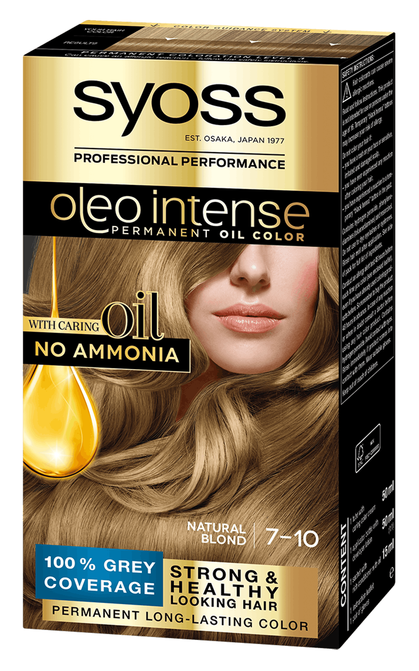 Natural Blond 7-10