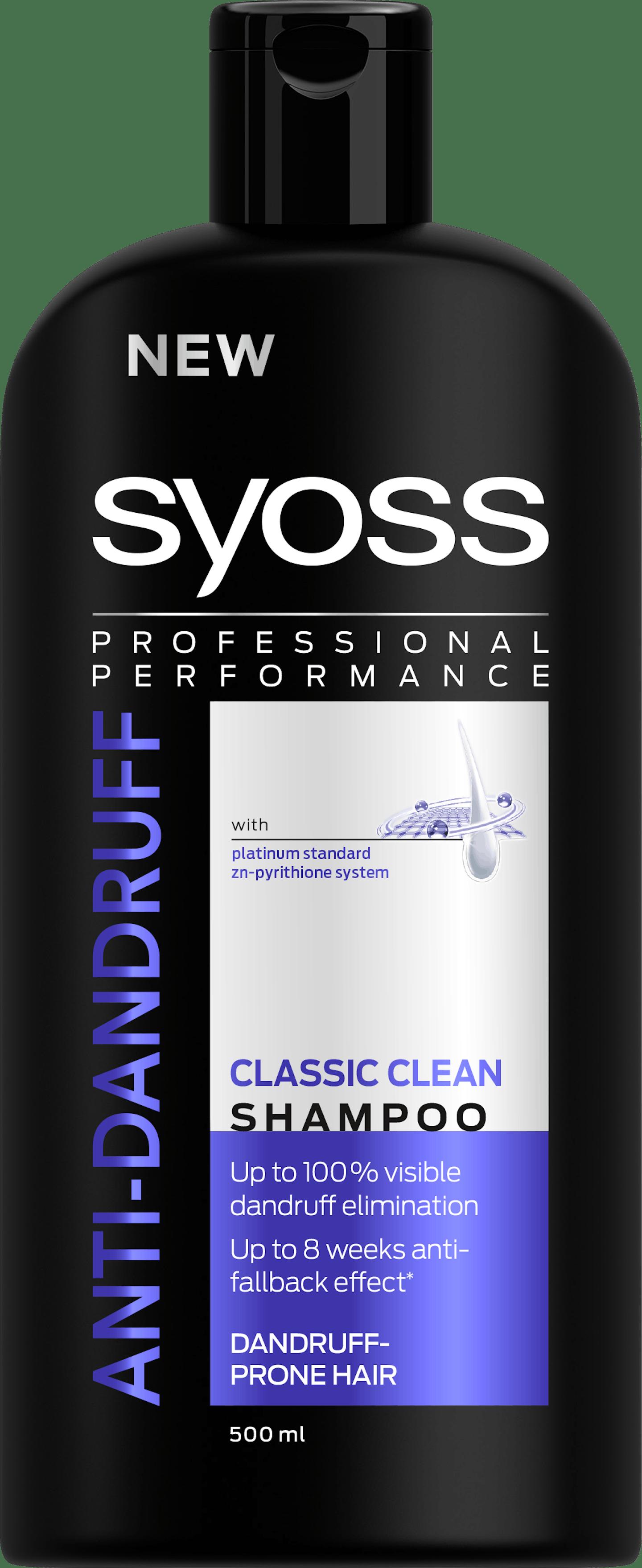 Syoss Anti-Dandruff Classic Clean Shampoo