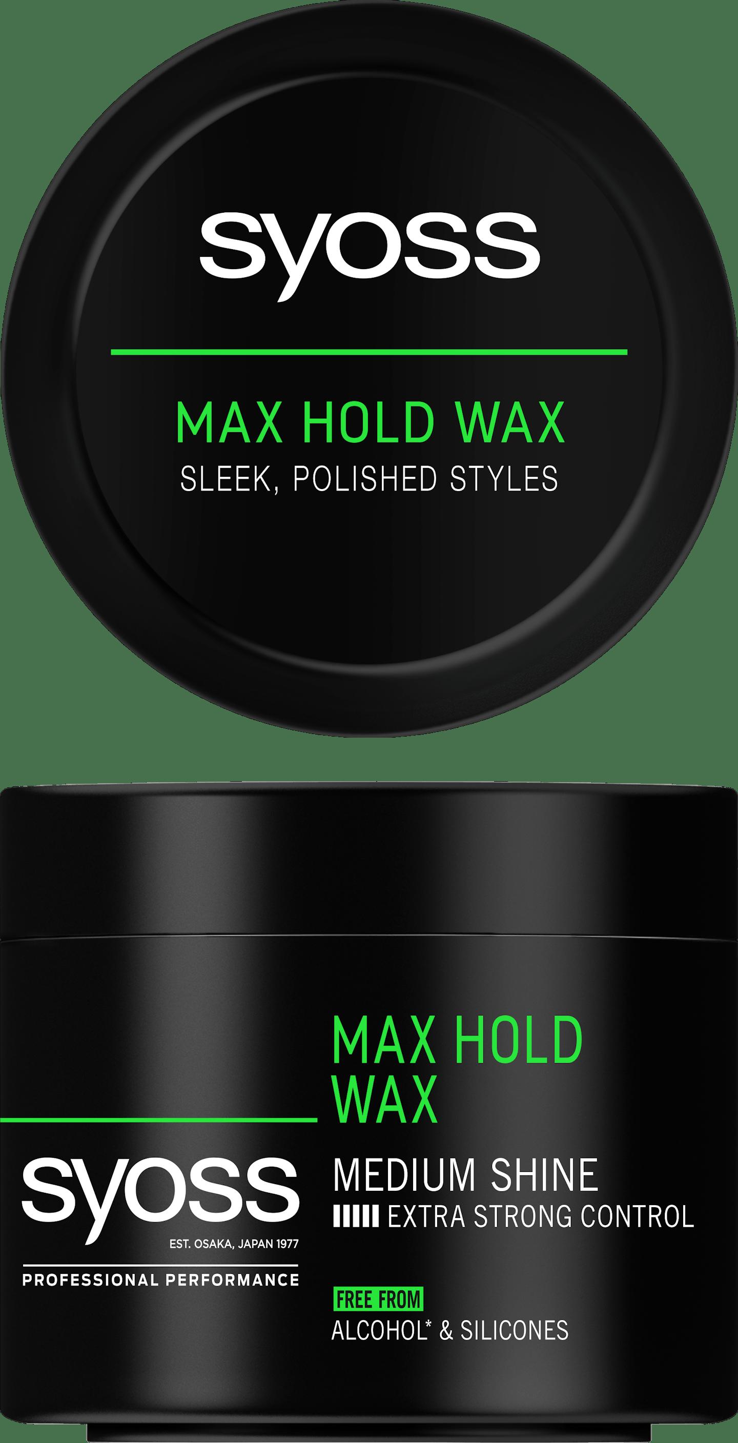 Syoss Max Hold Wax