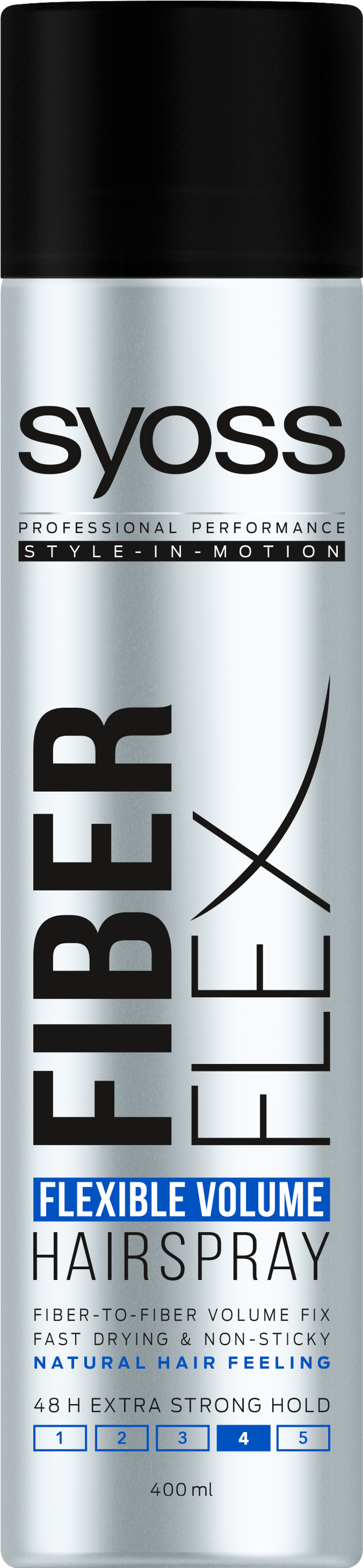 Syoss Fiber Flex Flexible Volume Hairspray