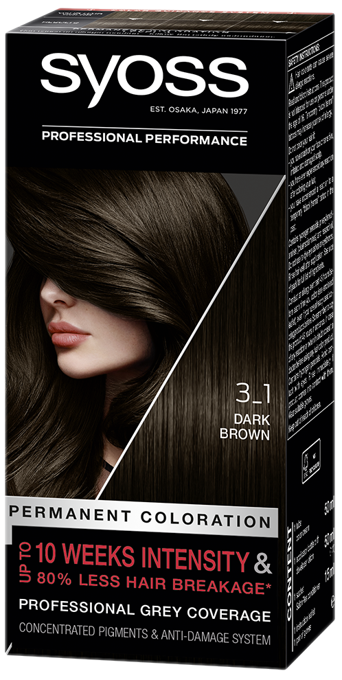 All Syoss Hair Color Products