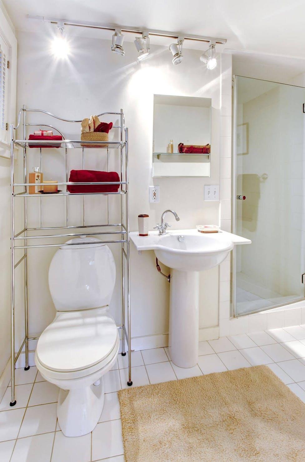 Aufbewahrungsbox: Im Bad Ordnung schaffen  WC Frisch