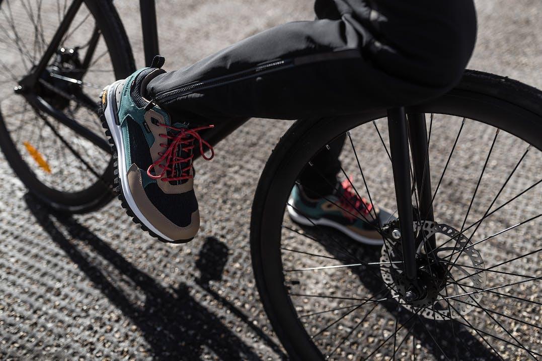 Fahrradhose mit Reissverschluss