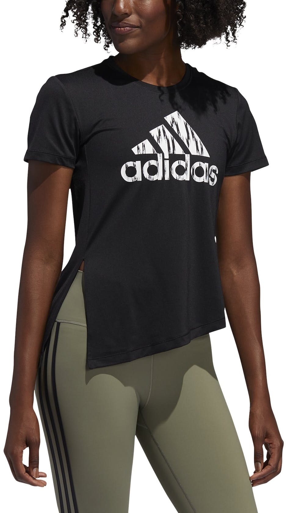 adidas Ikat Badge of Sport - t-shirt fitness - donna