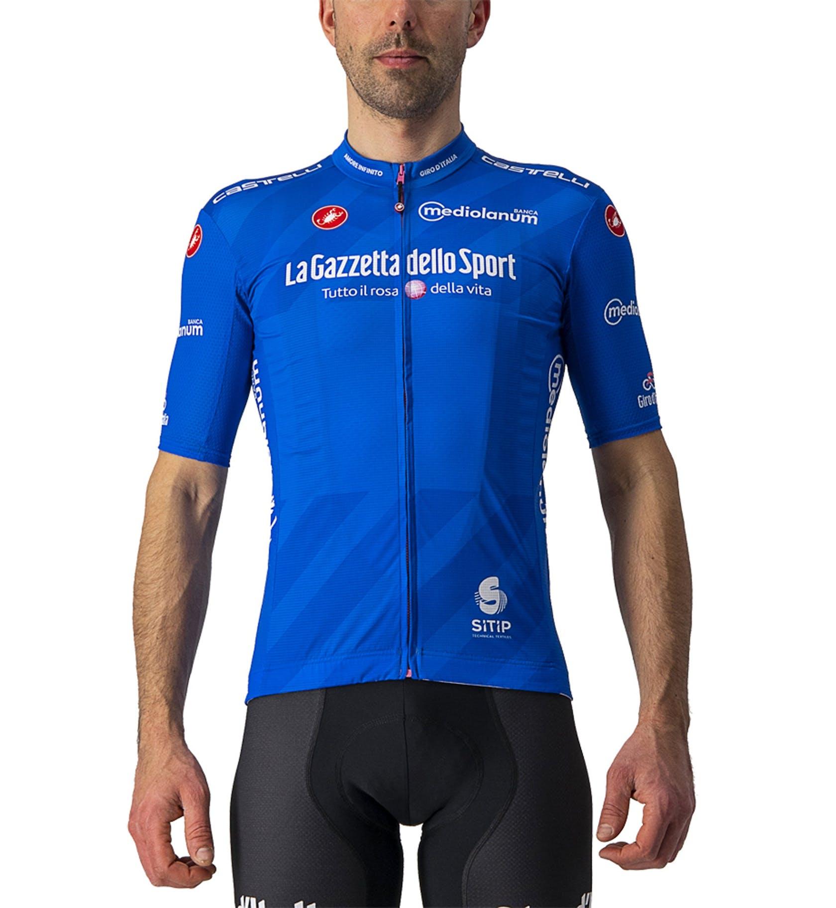 Castelli Azzurro Trikot Competizione Giro d'Italia 2021 - Herren