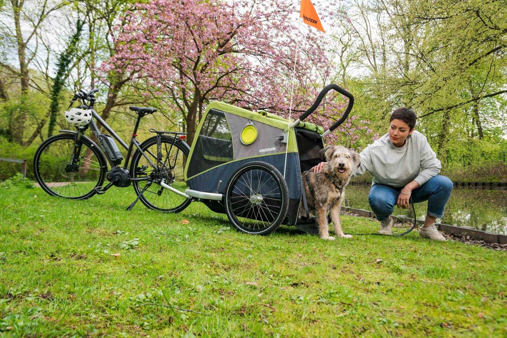 rimorchi per bicicletta portabambino porta animali