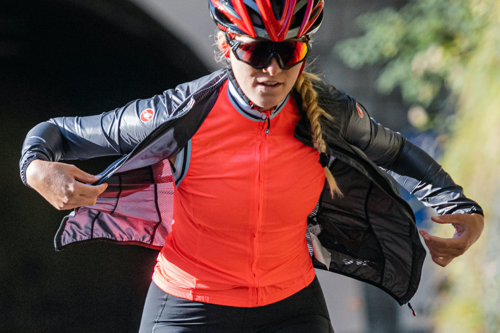 ventina giacca antipioggia bicicletta