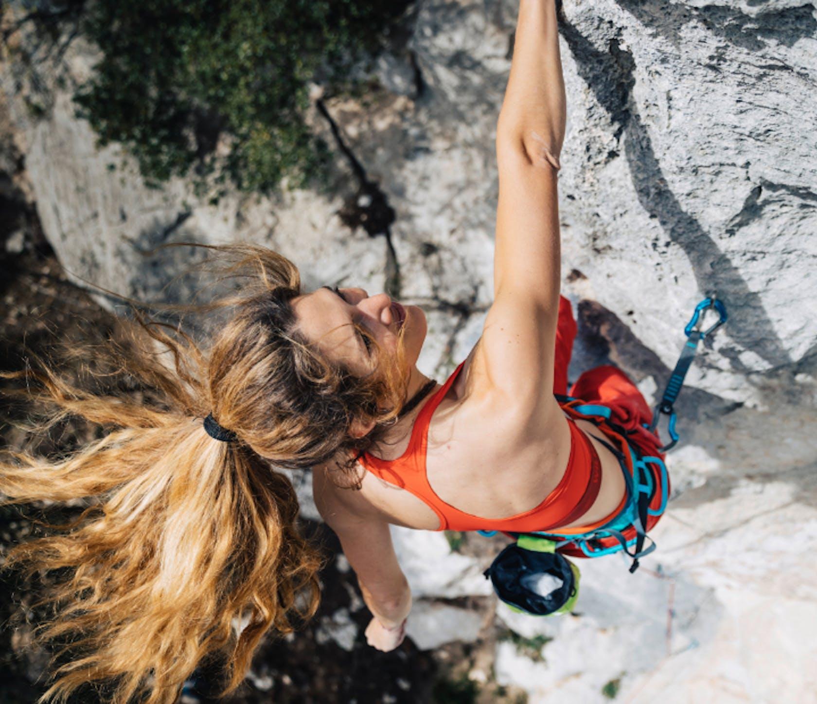 abbigliamento arrampicata