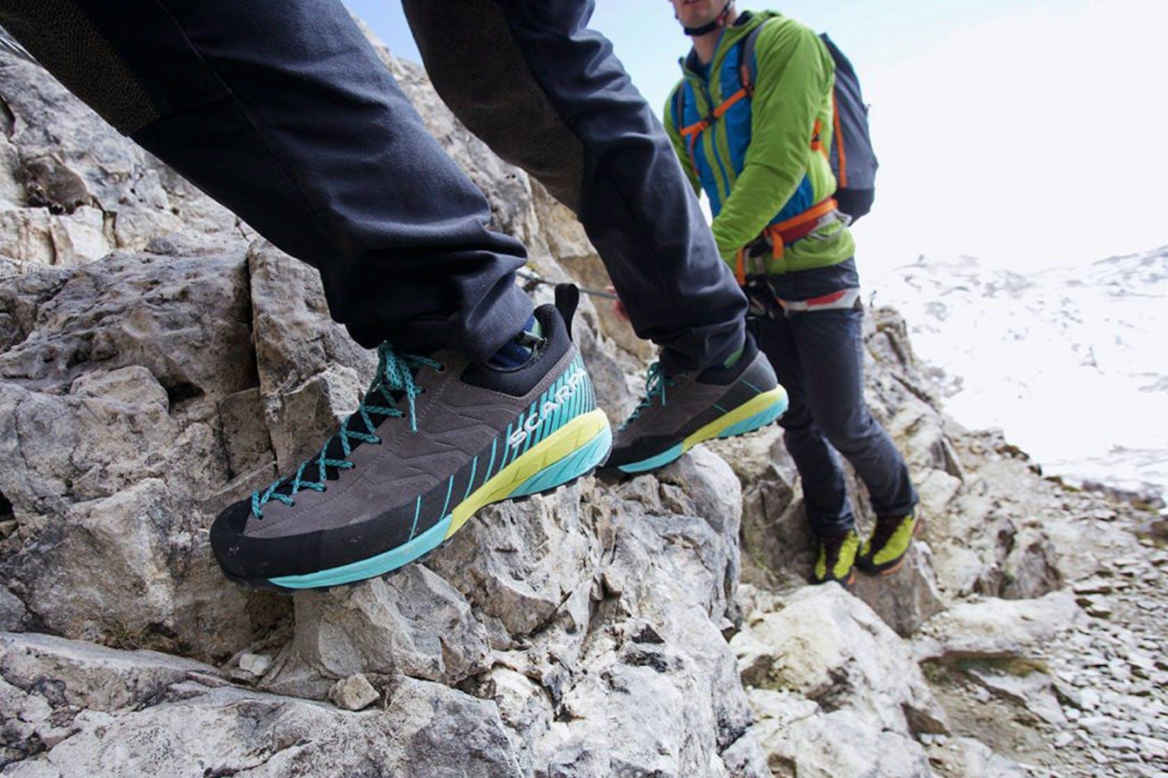 scarpe via ferrata