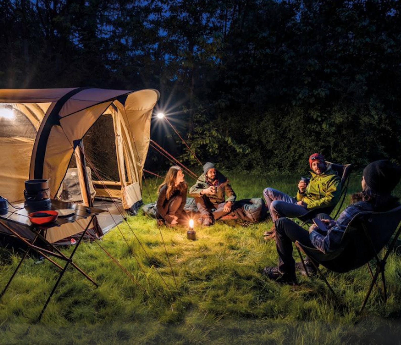 attrezzatura campeggio