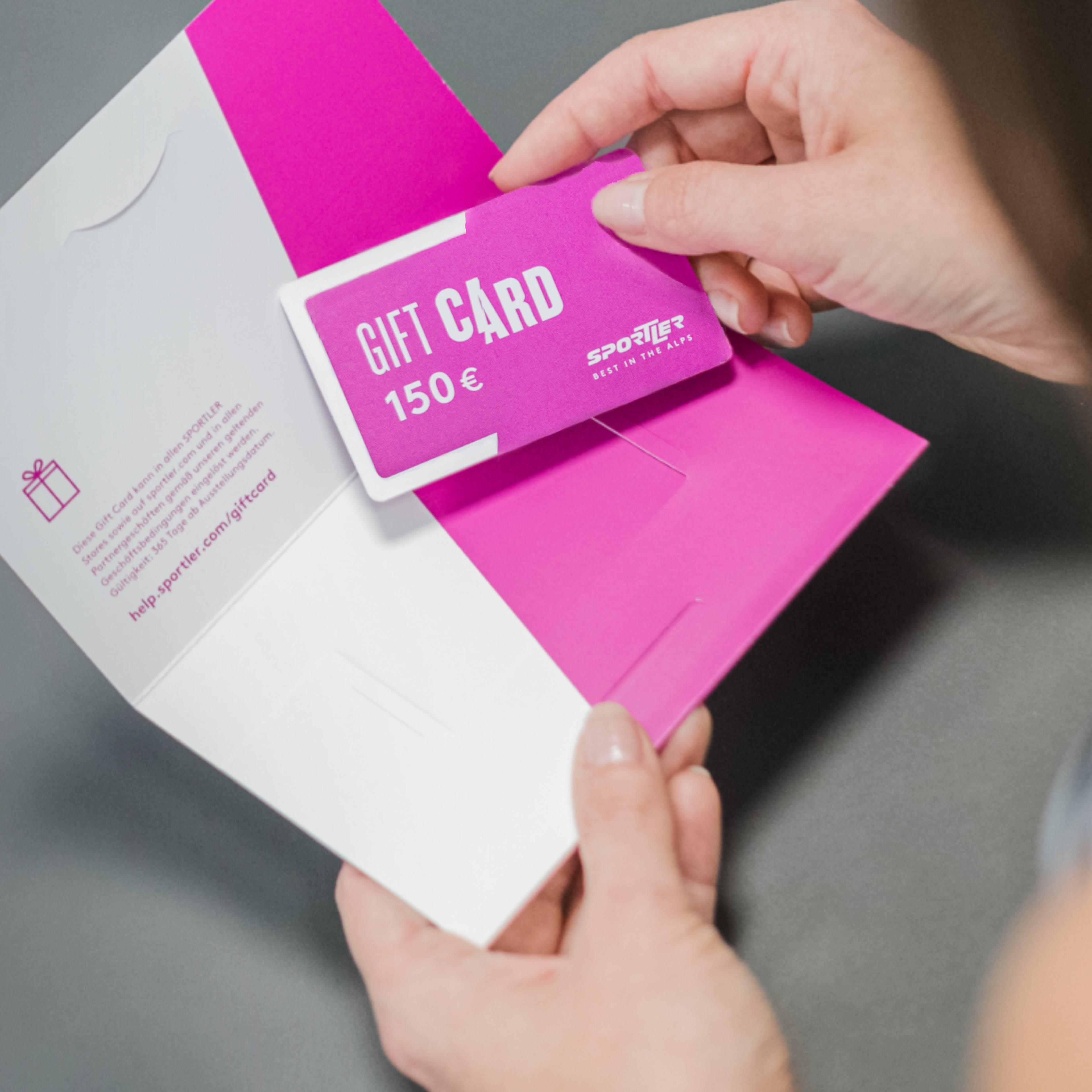 Sportler Gift Card per le aziende