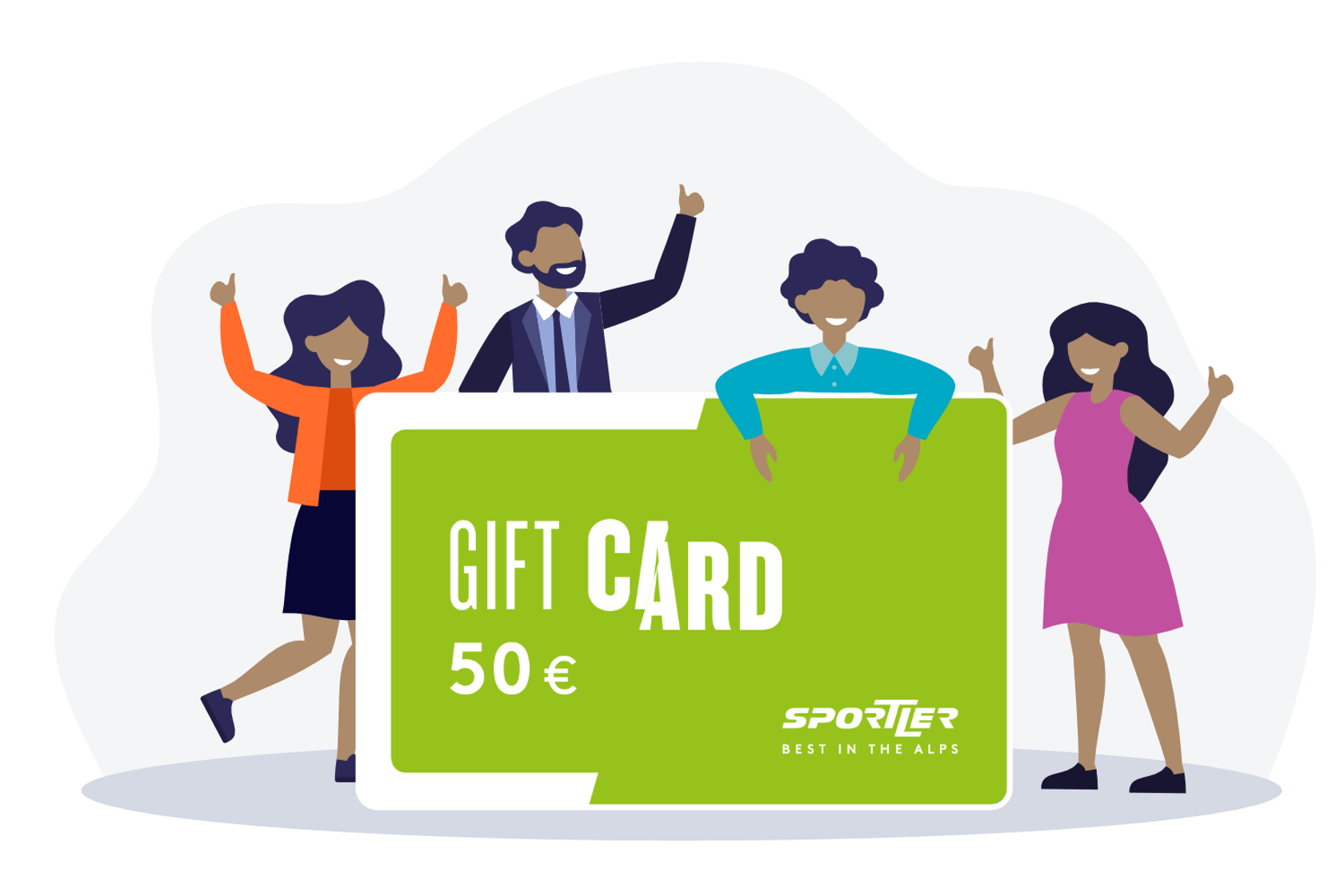 Sportler Gift Card vantaggi per collaboratori