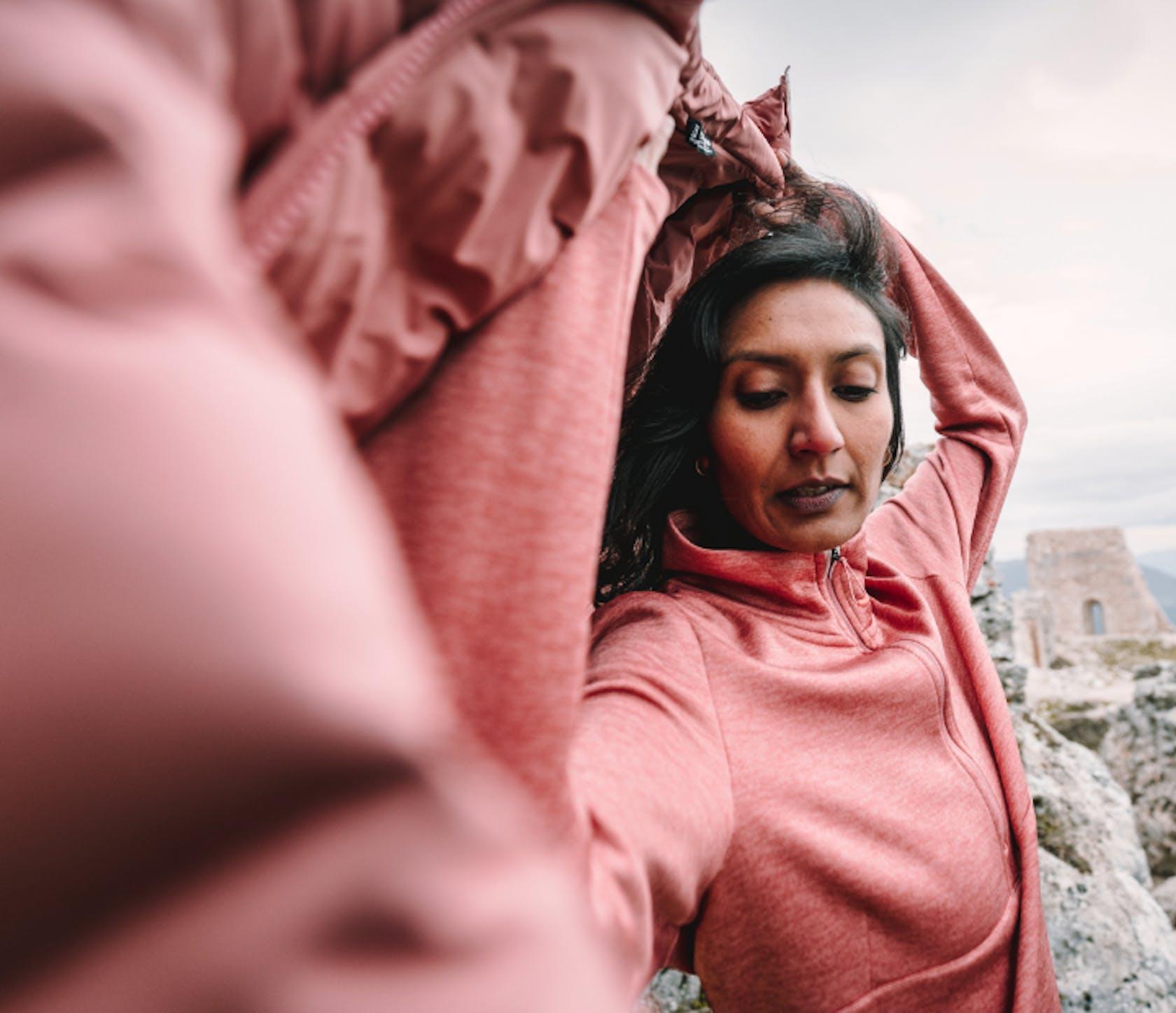 abbigliamento trekking donna