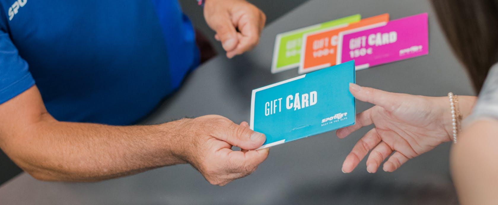 Sportler gift card regalo