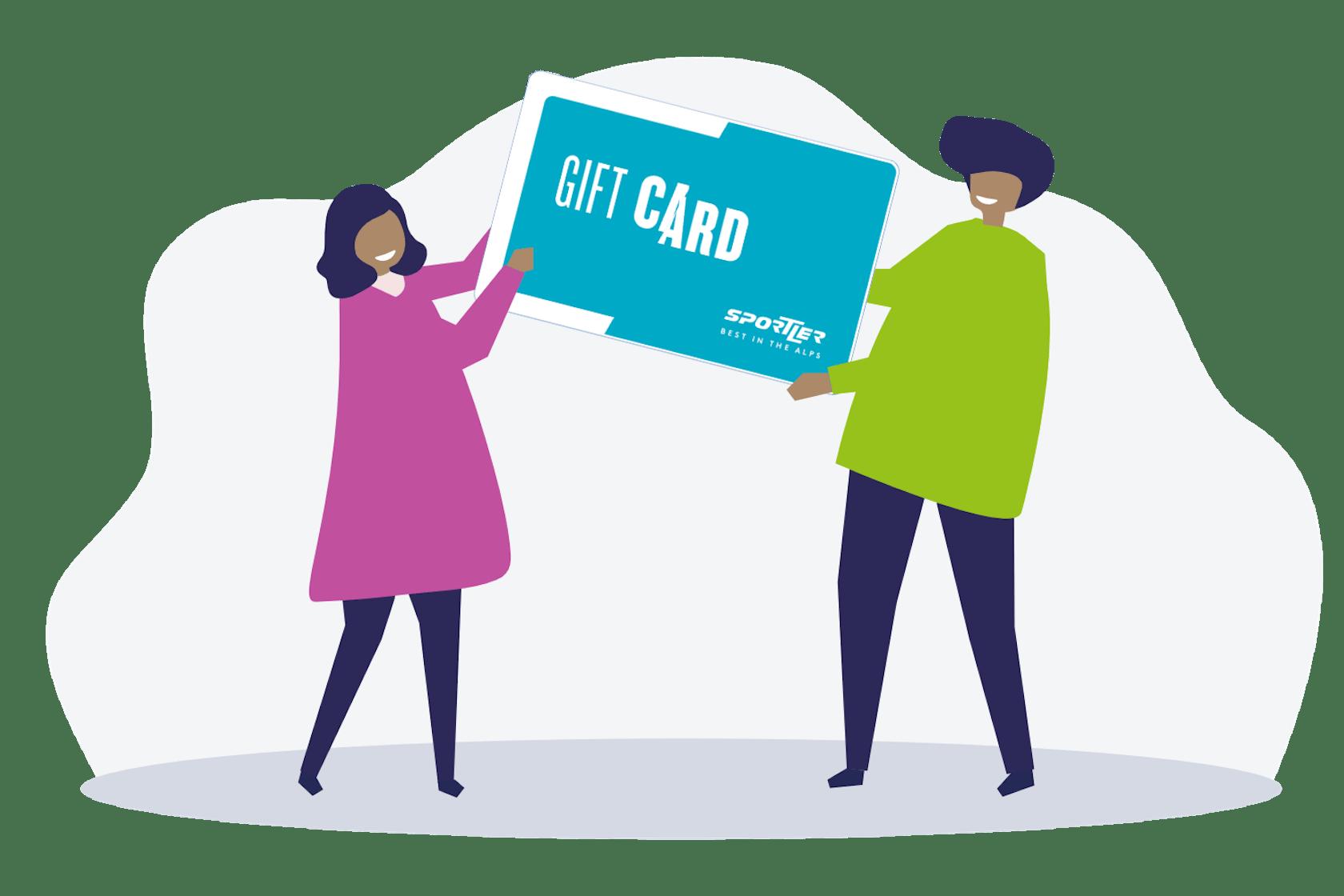 vantaggi gift card sportler