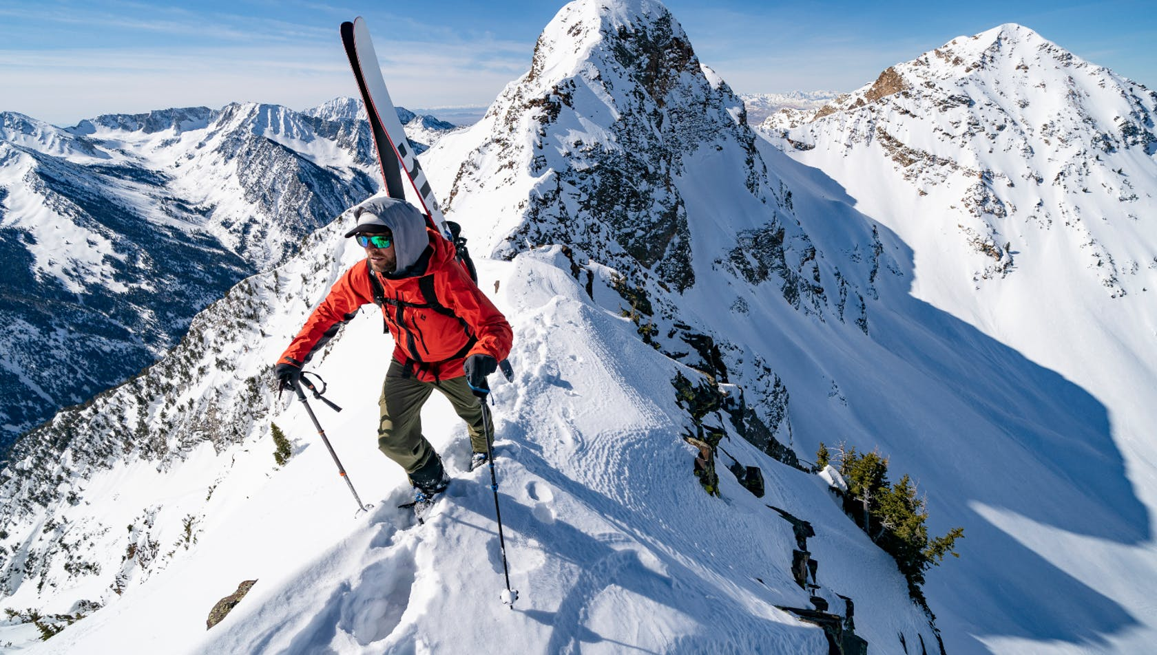 scialpinismo in alta quota
