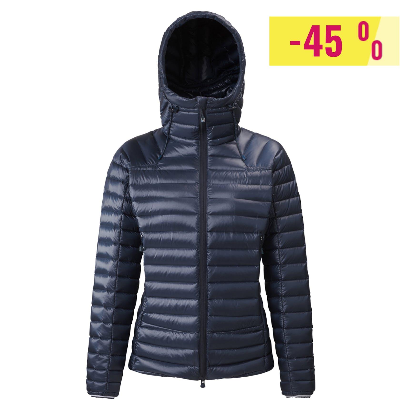 Millet Trilogy Synth' X - giacca in piuma con cappuccio - donna